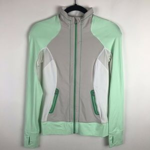 Lululemon Beach Runner Jacket Mint Green Dune Full
